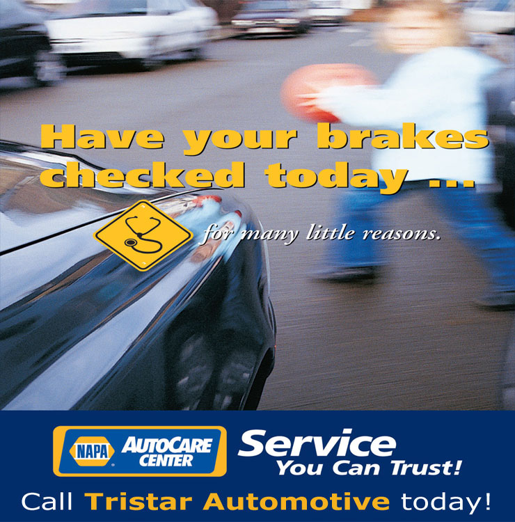 Tristar Automotive is an official brake and lamp inspection station in Santa Rosa, CA.