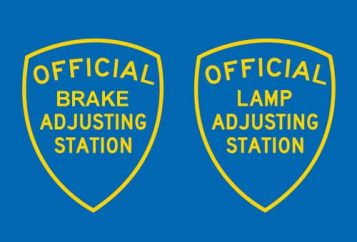 Brake and lamp inspections at Tristar Automotive in Santa Rosa, CA.