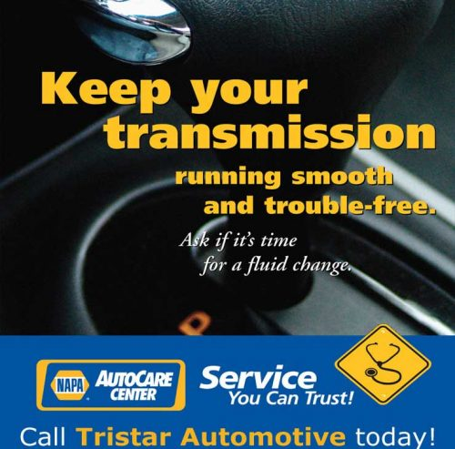 Transmission service and repair at Trisstar Automotive in Santa Rosa, CA.