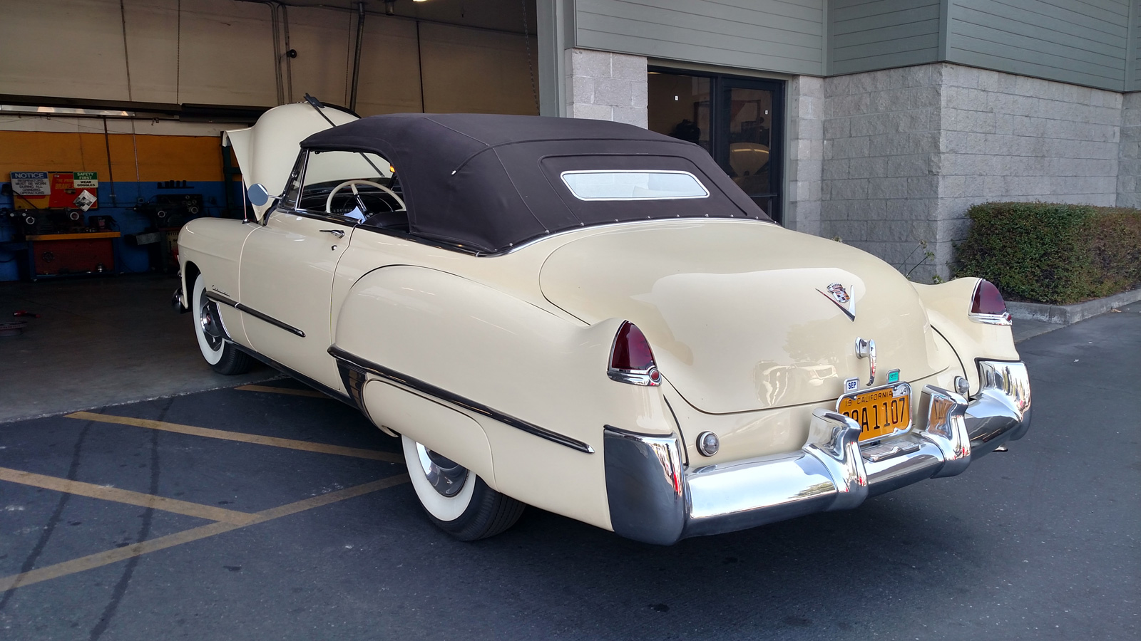 1949 Cadiallac being serviced at Tristar Automotive in Santa Rosa, CA.