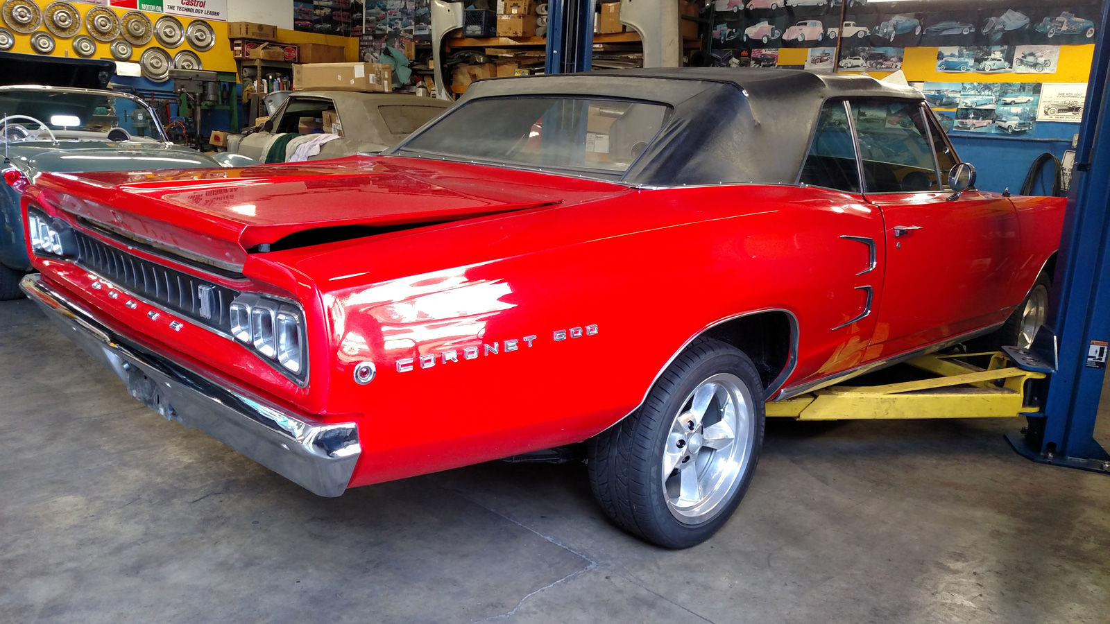 Dodge Coronet 500 at Tristar Automotive in Santa Rosa, CA.