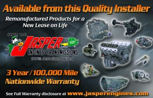 Jasper replacement engines and transmissions at Tristar Automotive in Santa Rosa, CA.