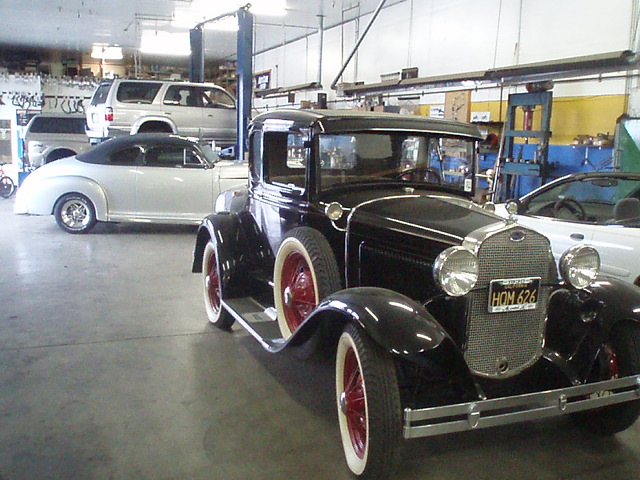 Antique car repair at Tristar Automotive