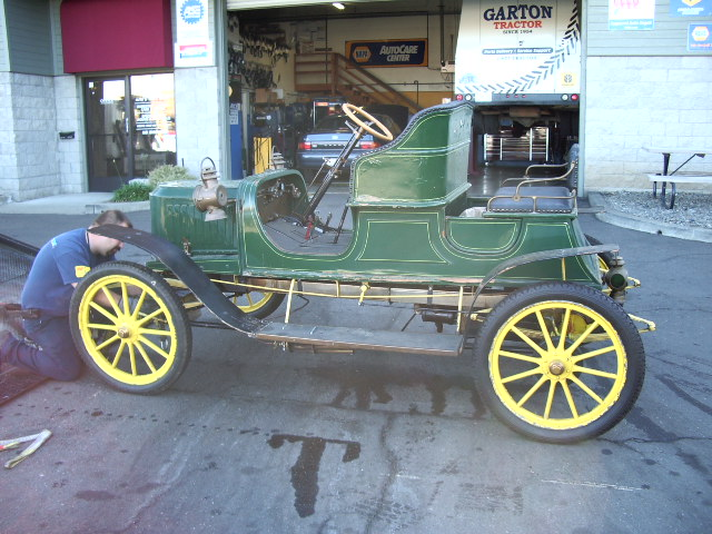 Antique car restorations at Tristar Automotive