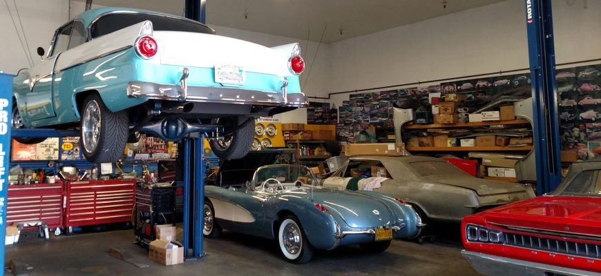 Classic cars restored at Tristar Automotive