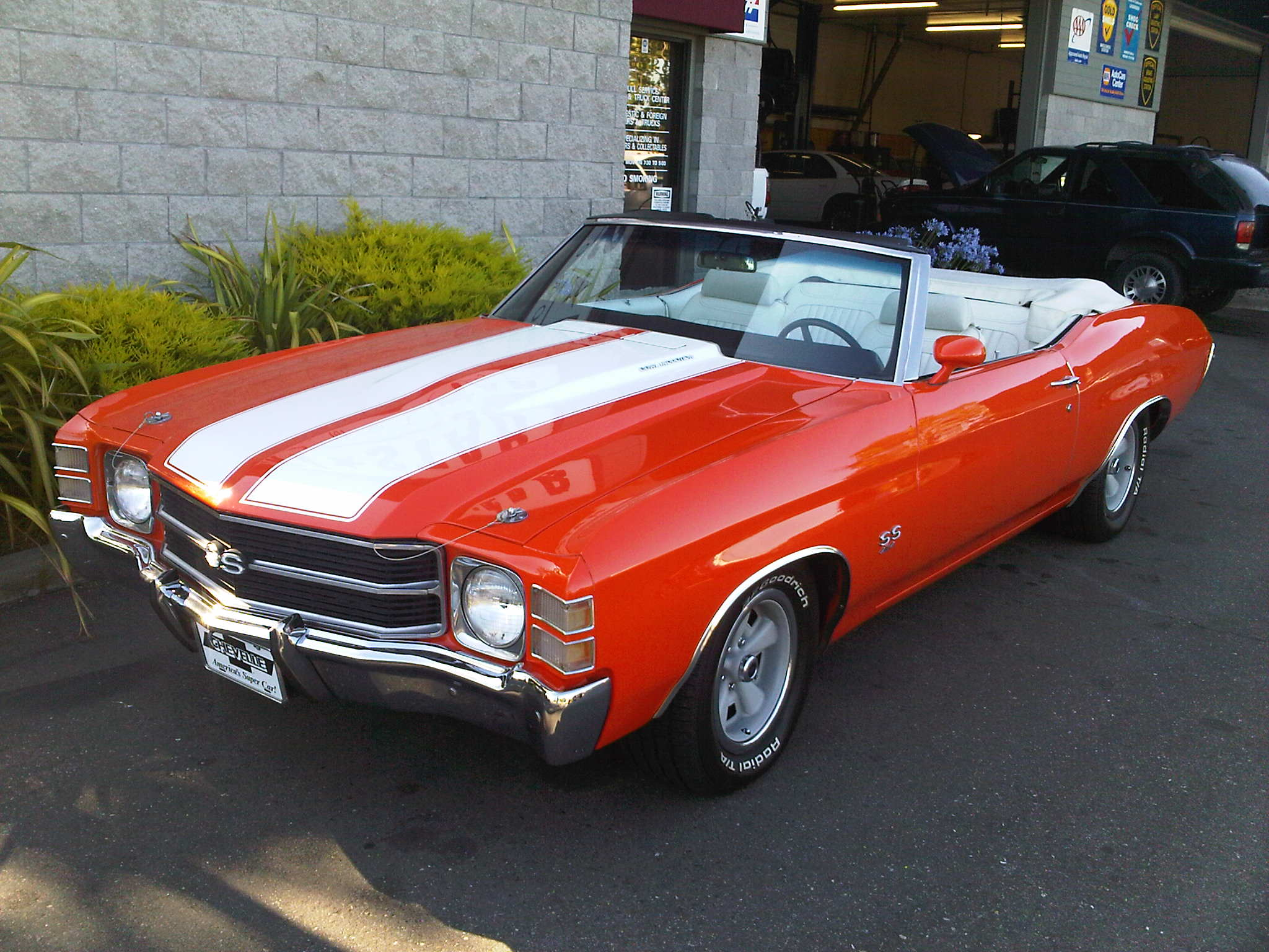 Tristar Automotive repairs and restores muscle cars.