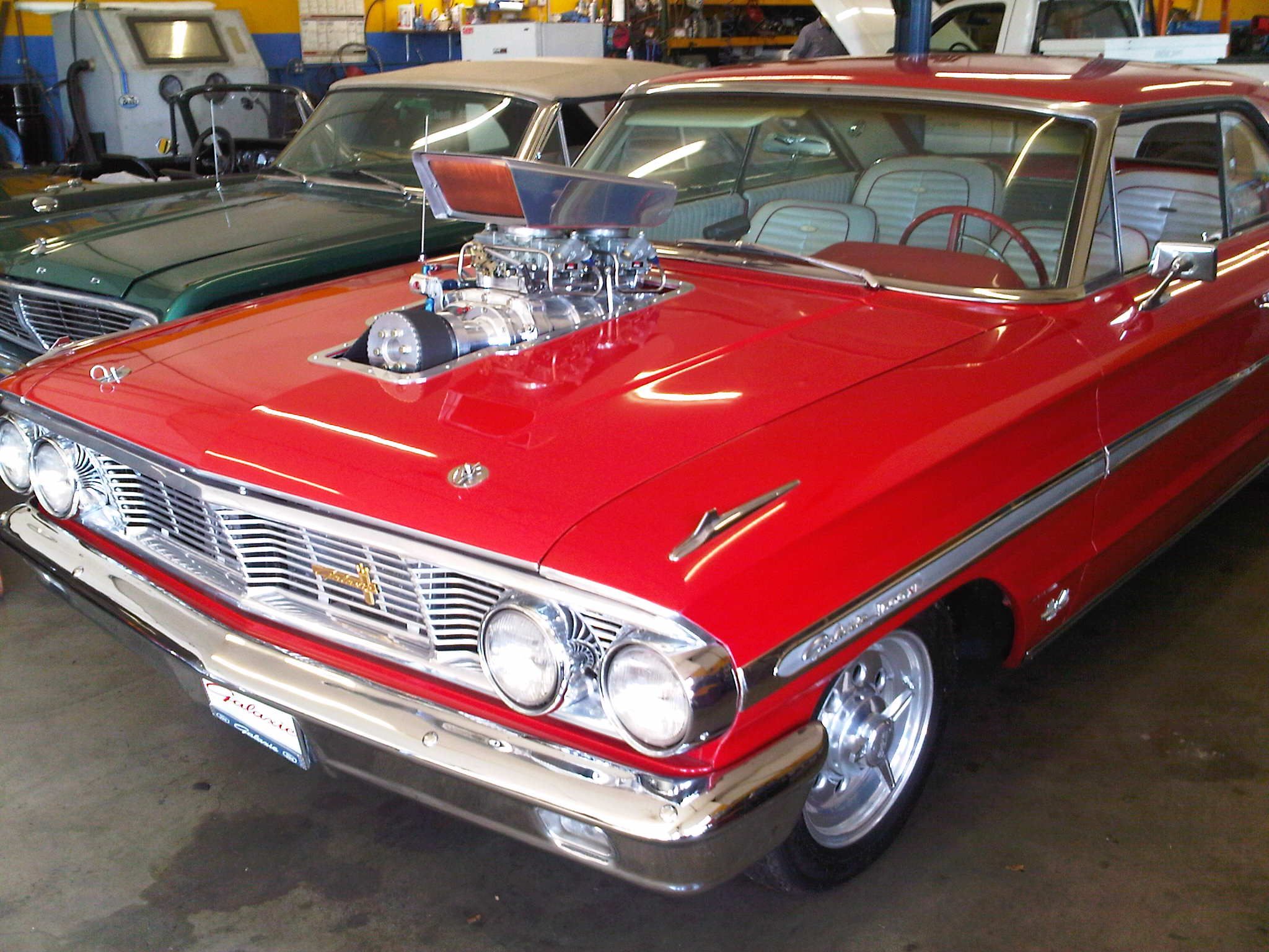 Tristar Automotive repairs and restores street rods and muscle cars.